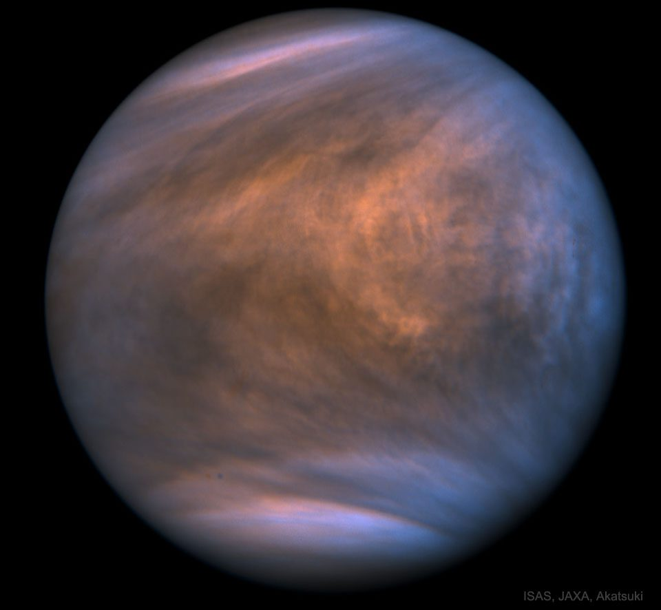 200915 Biomarker Phosphine Discovered in the Atmosphere of Venus ISAS JAXA Akatsuki Processing Meli thev Günün Astronomi Görseli (APOD/NASA) | 15/09/20